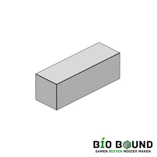 circulaire biobased hulpbloktreden 25x25 cm - duurzaam beton