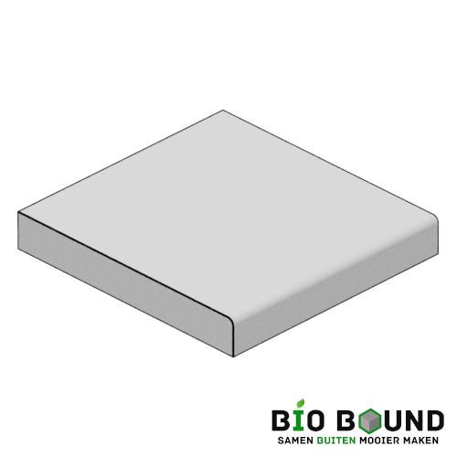 circulaire biobased traptreden 105x15 cm- duurzaam beton
