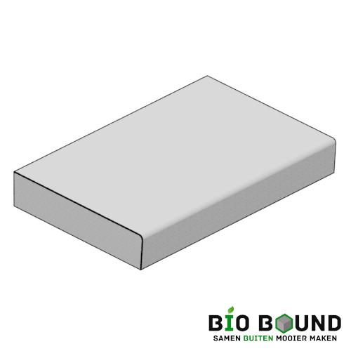 circulaire biobased traptreden 22x100 cm - prefab- duurzaam beton