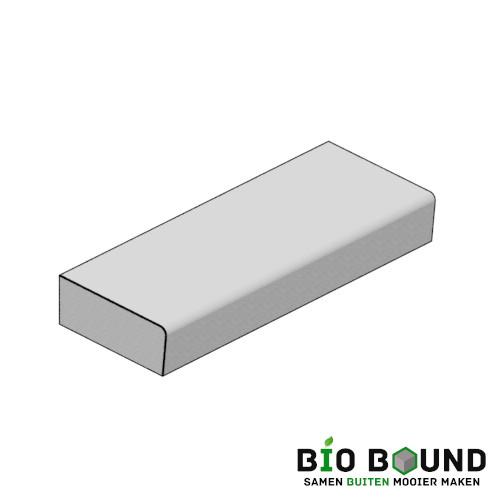 circulaire biobased traptreden 40x15 cm - duurzaam beton