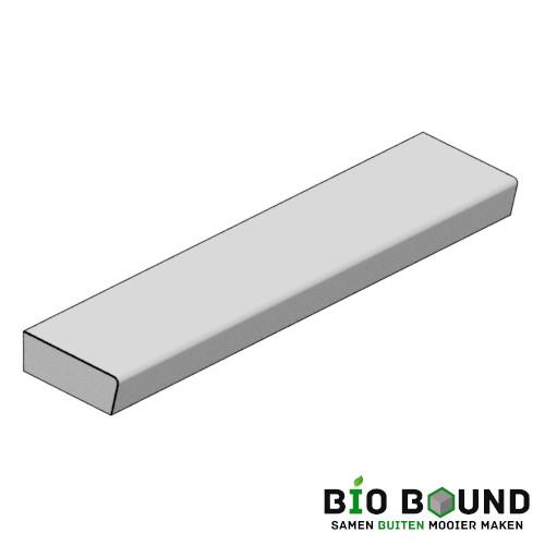 circulaire biobased traptreden 48x16,5 cm - duurzaam beton