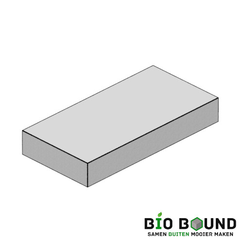 circulaire biobased traptreden 50x15 cm- duurzaam beton