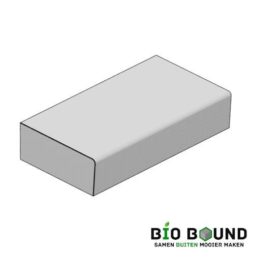 circulaire biobased traptreden 55x22 cm- duurzaam beton