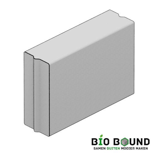 circulaire biobased bloembakbanden 30x70 cm - duurzaam beton