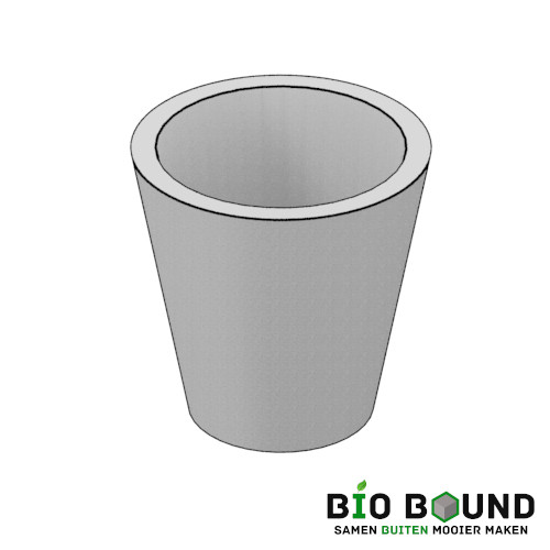 circulaire, biobased boompot bloempot