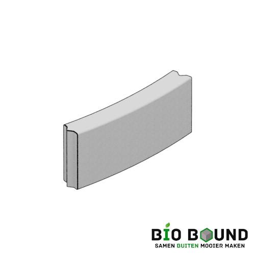 duurzaam beton bloembak bochtband 15x40 cm circulair en biobased