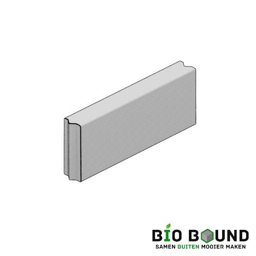 duurzaam beton bloembakband 15x40 cm circulair en biobased