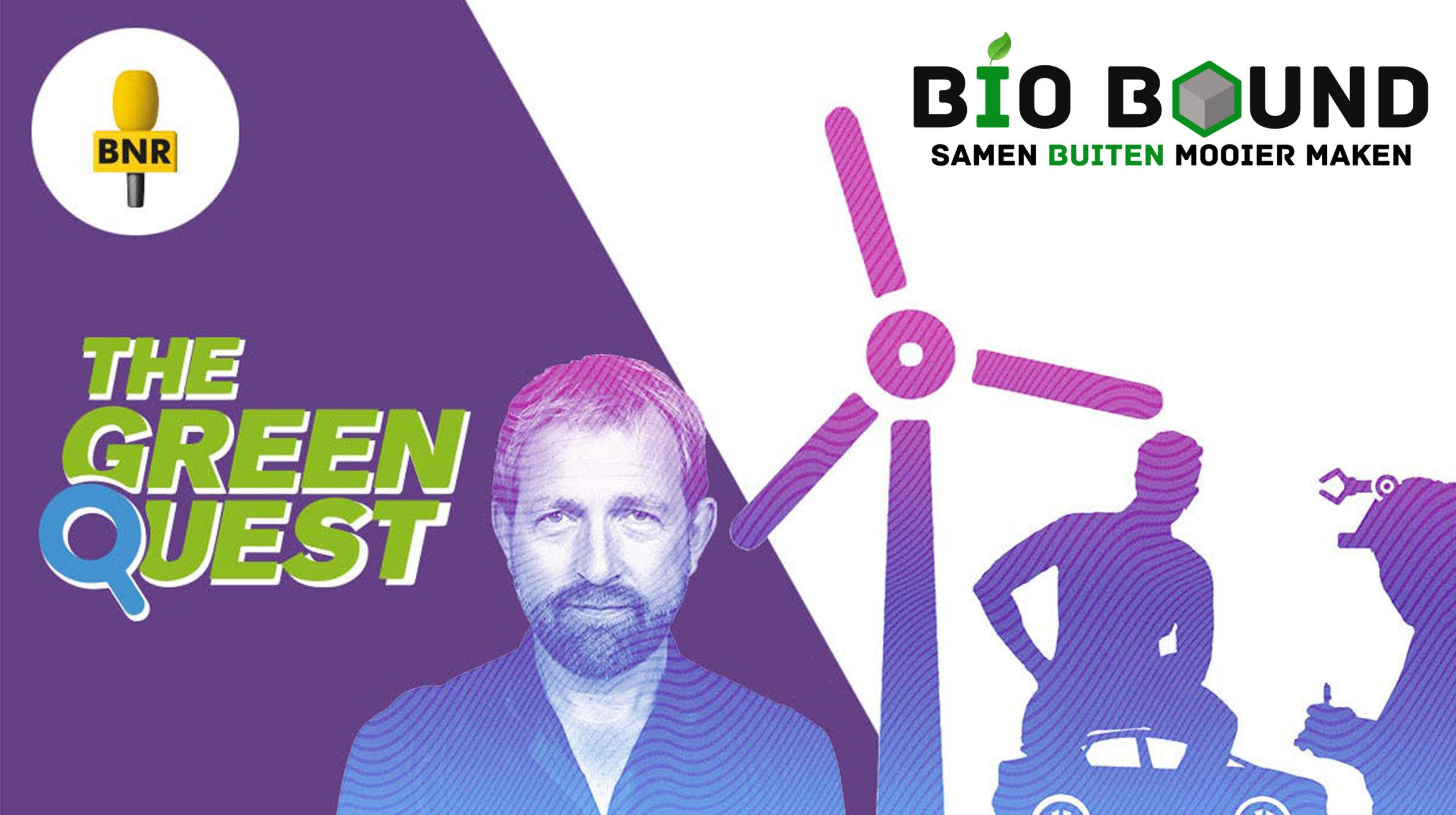 Bio Bound bij BNR The Green Quest