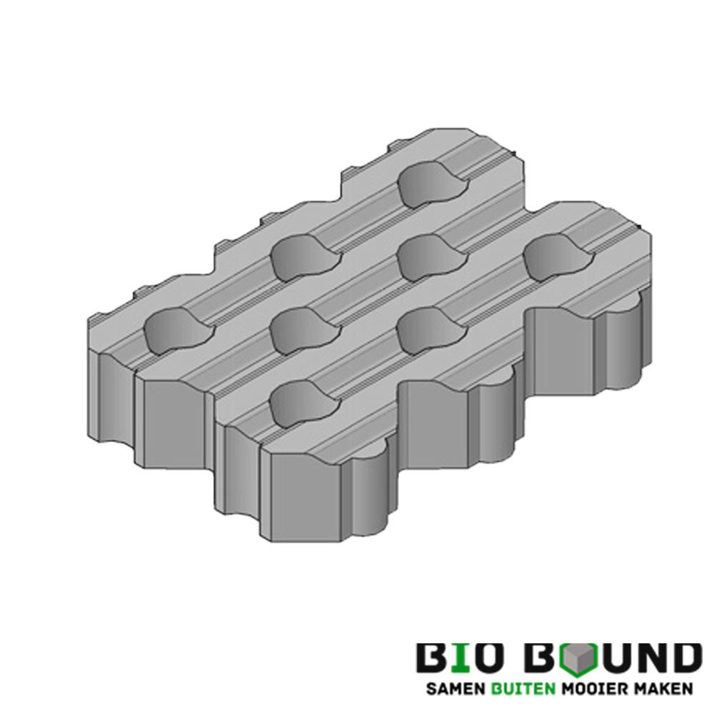 Circulaire, biobased grasbetontegels type G