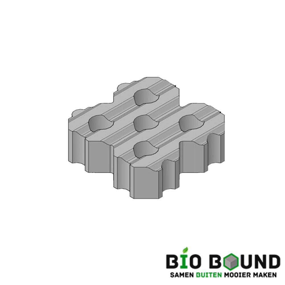 Circulaire, biobased grasbetontegels type H