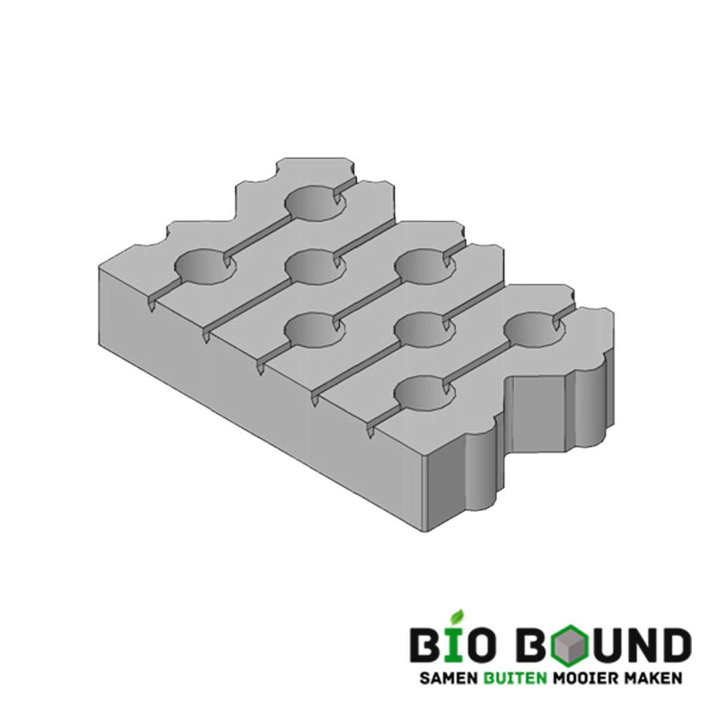 Circulaire, biobased grasbetontegels type J