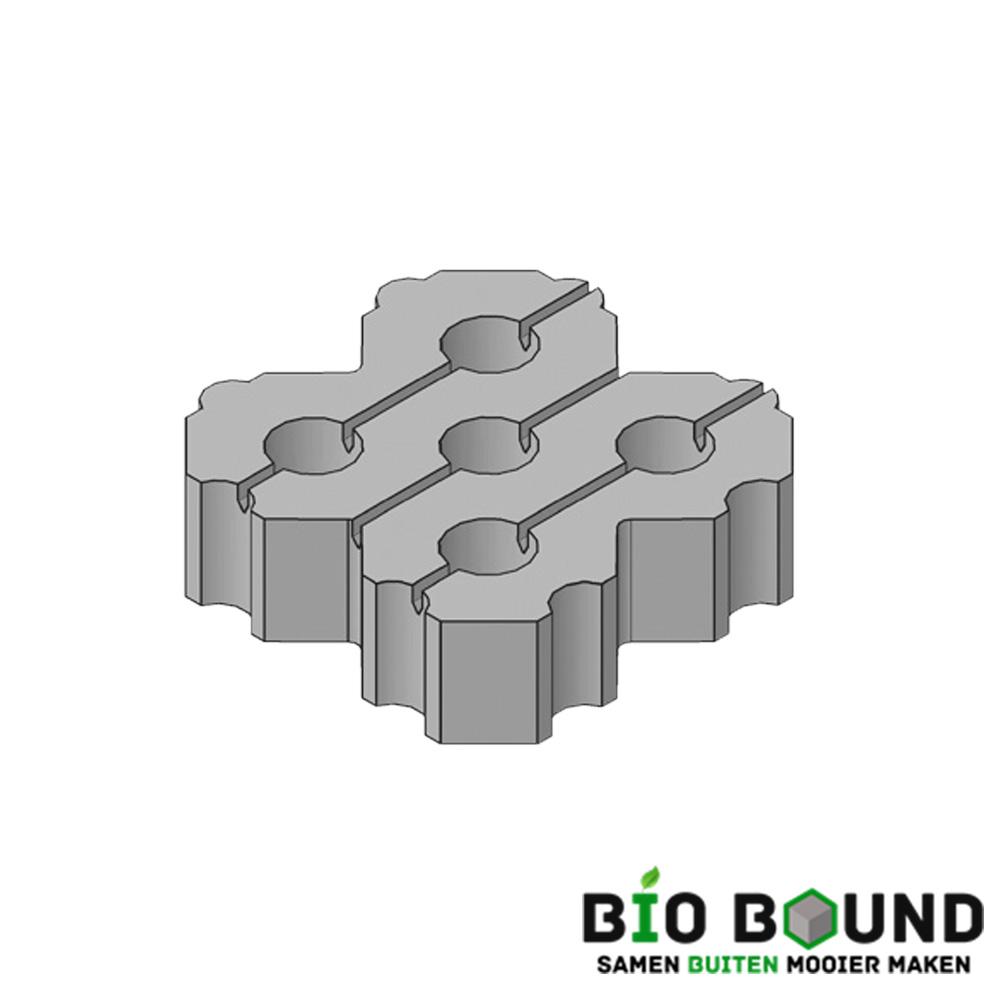 Circulaire, biobased grasbetontegels type W