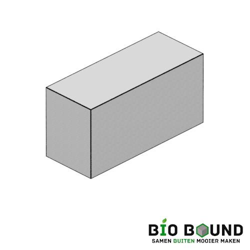 Parkband bloembakband 40 x 50 cm biobased circulair beton - duurzaam beton