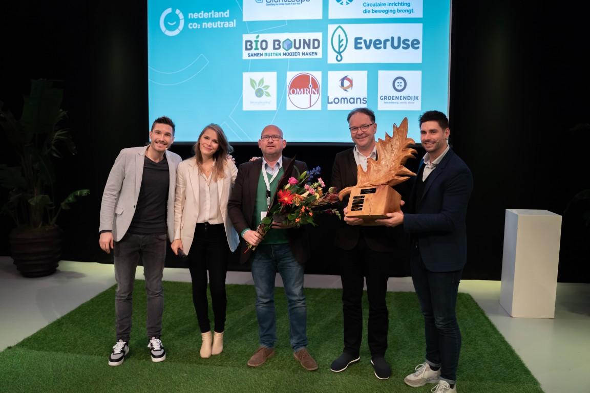 Bio Bound 2e Duurzaamste Bedrijf van Nederland