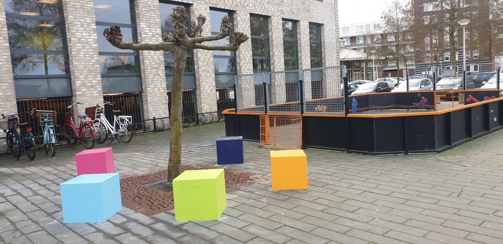Duurzaam beton voor amadeus lyceum Utrecht
