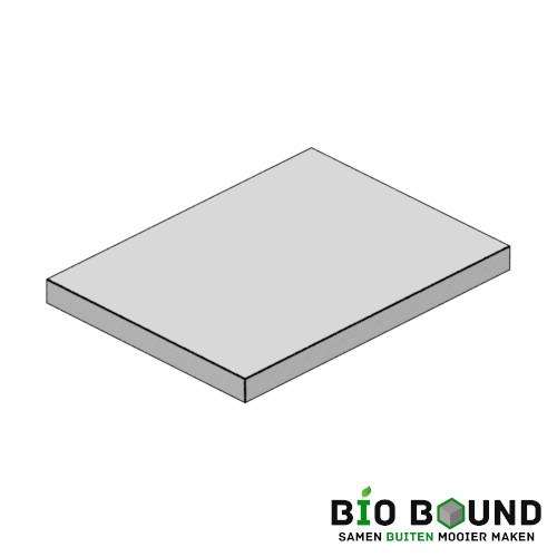 Circulaire, biobased betonplaten 150x200 cm