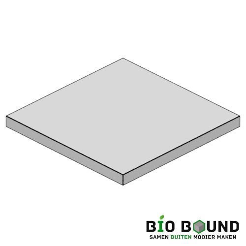 Circulaire, biobased betonplaten 200x200 cm