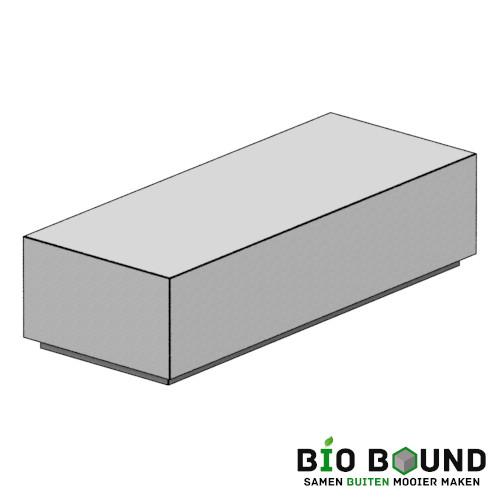 Circulair, biobased betonnen zitbank Yara