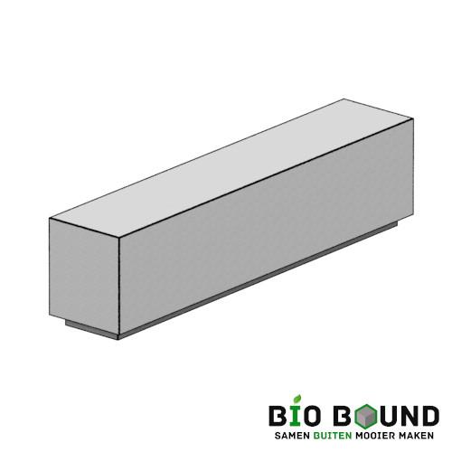 Biobased bank floor biobased circulair beton met verjonging