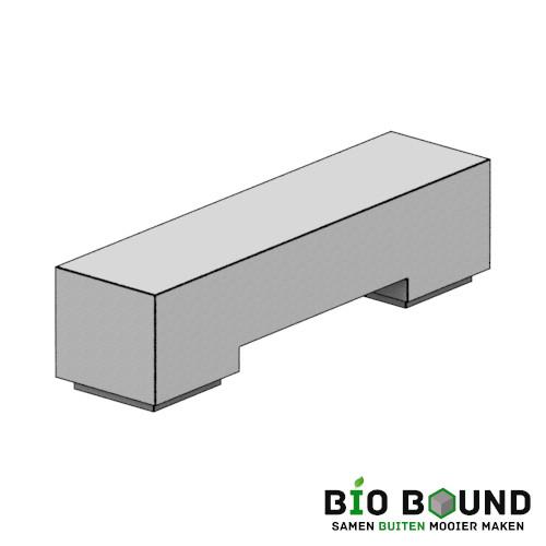 circulaire, biobased bank MIla duurzaam beton