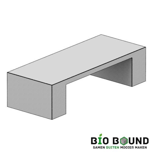 circulaire, biobased bank Sophie duurzaam beton