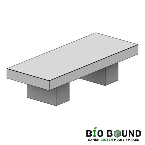 duurzaam beton zitbank Lotte circulair biobased beton