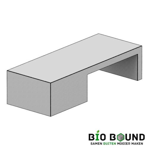 duurzaam beton zitbank Ariane