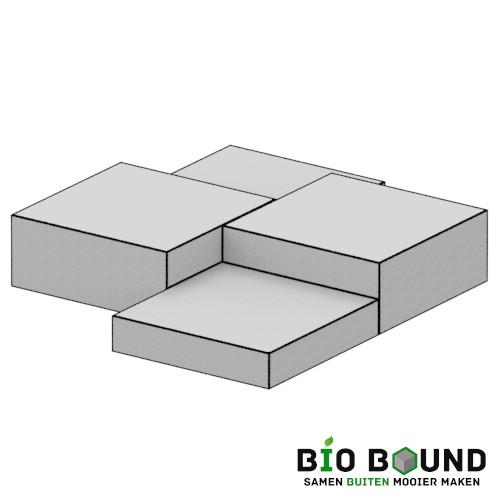 Podium Feline duurzaam beton