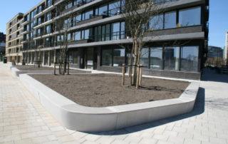 duurzame zitranden in duurzaam Amsterdam