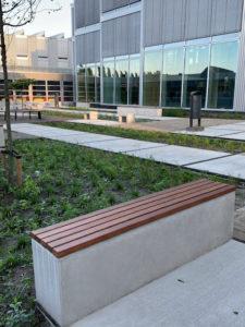bank Floor circulair, biobased beton