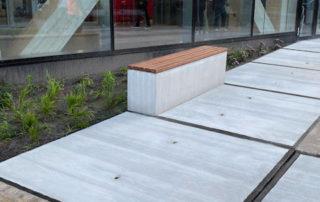 circulaire, biobased betonbank